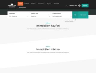 immobilien-mallorca.es screenshot