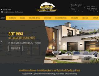 immobilien-rhoffmann.de screenshot