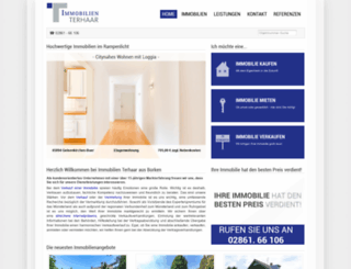 immobilien-terhaar.com screenshot