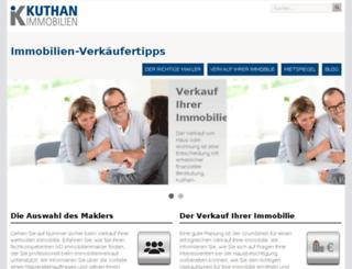 immobilien-verkaeufertipps.de screenshot