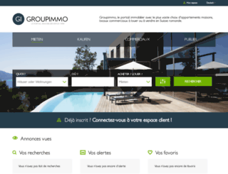 immobilien.groupimmo.ch screenshot