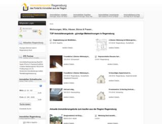 immobilienportal-regensburg.de screenshot