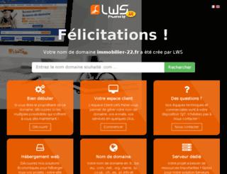 immobilier-22.fr screenshot