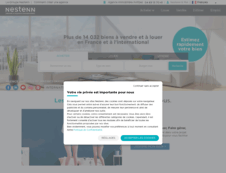immobilier-antibes-juanlespins.solvimo.com screenshot