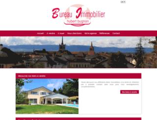 immobilier-broye.ch screenshot