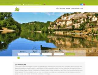 immobilier-en-dordogne.com screenshot
