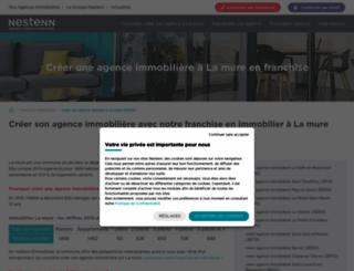 immobilier-la-mure.solvimo.com screenshot