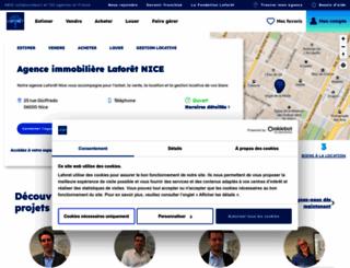 immobilier-nice-ouest.fr screenshot