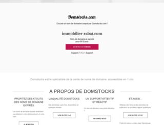 immobilier-rabat.com screenshot