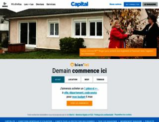 immobilier.capital.fr screenshot