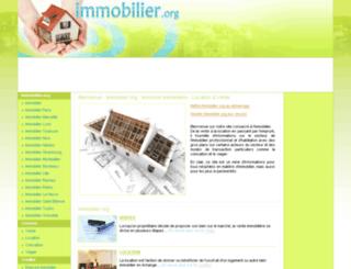 immobilier.org screenshot