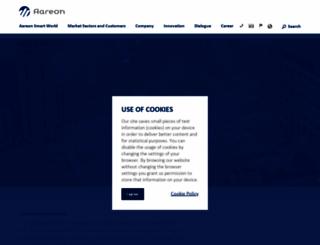 immoblue.aareon.com screenshot
