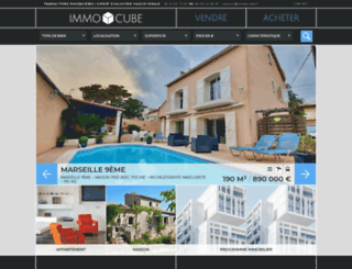 immocube.fr screenshot
