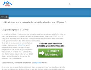 immodeslacs.fr screenshot