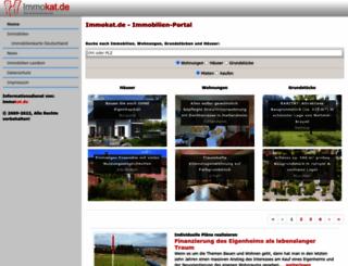 immokat.de screenshot