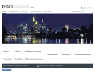 immosearch-frankfurt.de screenshot