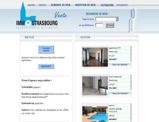 immostrasbourg.com screenshot
