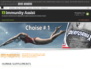 immunityassist.com screenshot