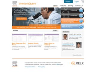 immunoquery.com screenshot