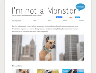 imnotamonster.org screenshot