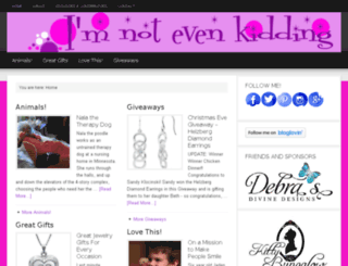 imnotevenkidding.com screenshot