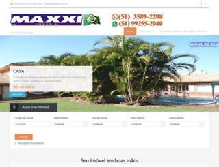 imobiliariamaxxi.com.br screenshot