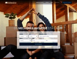 imobiliariamoresco.com.br screenshot