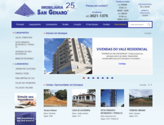 imobsangenaro.com.br screenshot