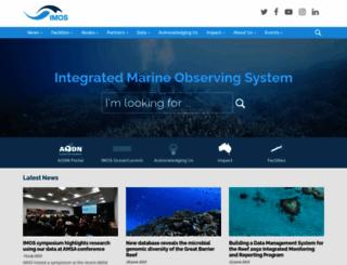 imos.org.au screenshot