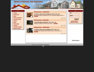 imoti.montana-dnes.com screenshot