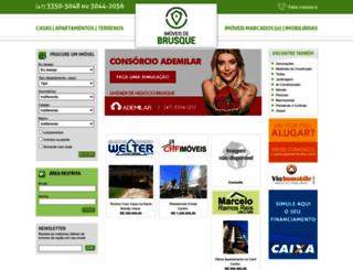 imoveisdebrusque.com.br screenshot