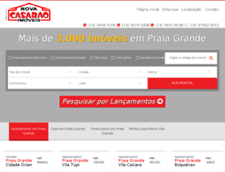 imoveispraiagrande.com.br screenshot