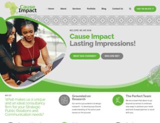 impact-africa.com screenshot