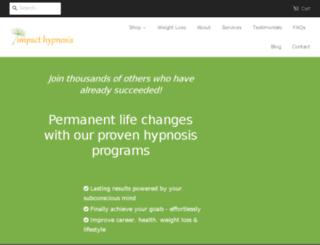 impact-hypnosis.myshopify.com screenshot