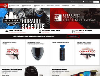 impact-proshop.com screenshot