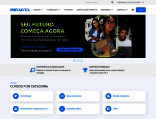 impacta.com.br screenshot