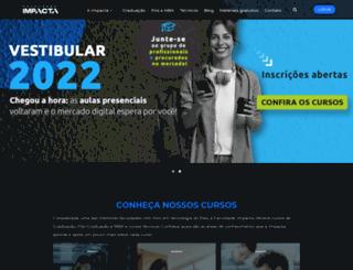 impacta.edu.br screenshot