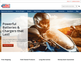 impactbattery.com screenshot