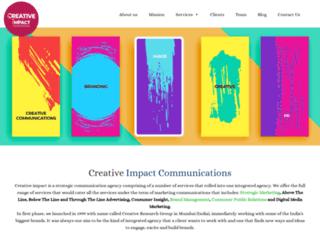 impactcommunication.co.uk screenshot