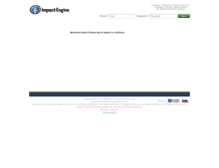impactengine.com screenshot