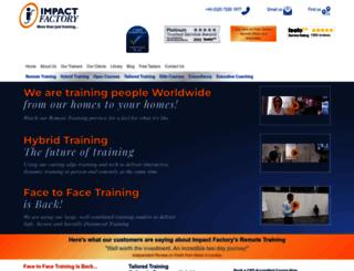 impactfactory.com screenshot