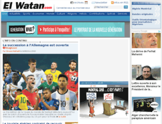 impactjournalism.elwatan.com screenshot