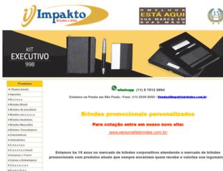 impaktobrindes.com.br screenshot