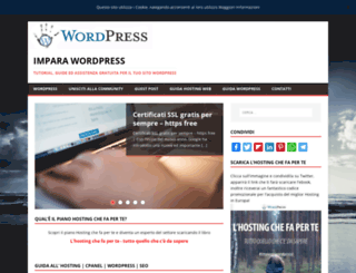 impara-wordpress.eu screenshot