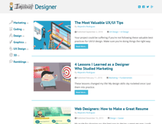 impatientdesigner.com screenshot