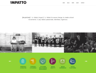 impatto.com screenshot
