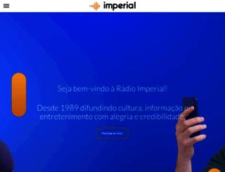 imperial.fm.br screenshot