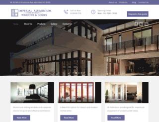 imperialaluminium.com.au screenshot