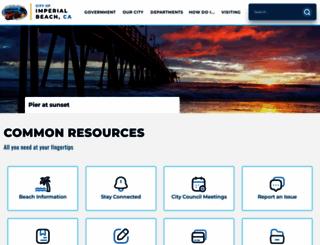 imperialbeachca.gov screenshot