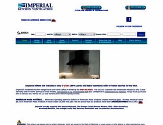 imperialhoods.com screenshot